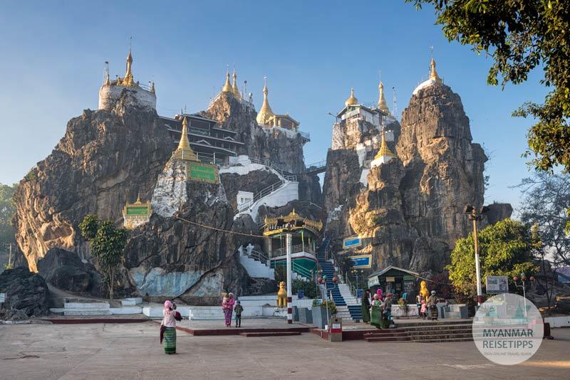Myanmar Reisetipps | Loikaw | Taung-Kwe-Pagode