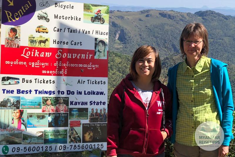 Myanmar Reisetipps | Loikaw | Mit Victoria nach Htay Kho.