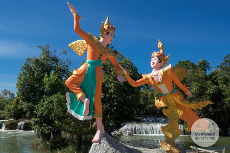 Myanmar Reisetipps | Loikaw | Kaskaden und Wasserfall Htee Se Kha