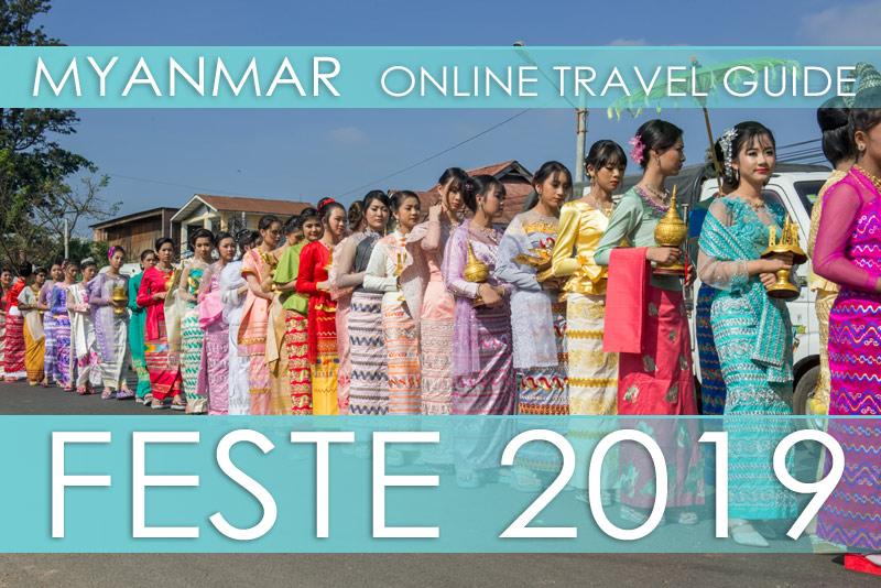 Alle Termine und Orte der Festivals 2019 in Myanmar