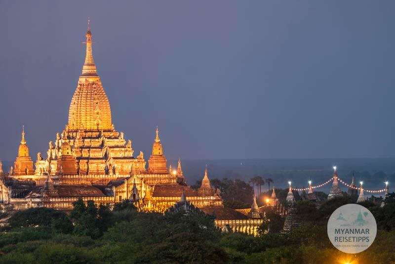 Myanmar Reisetipps | Festival | Ananda-Pagoden-Fest in Bagan