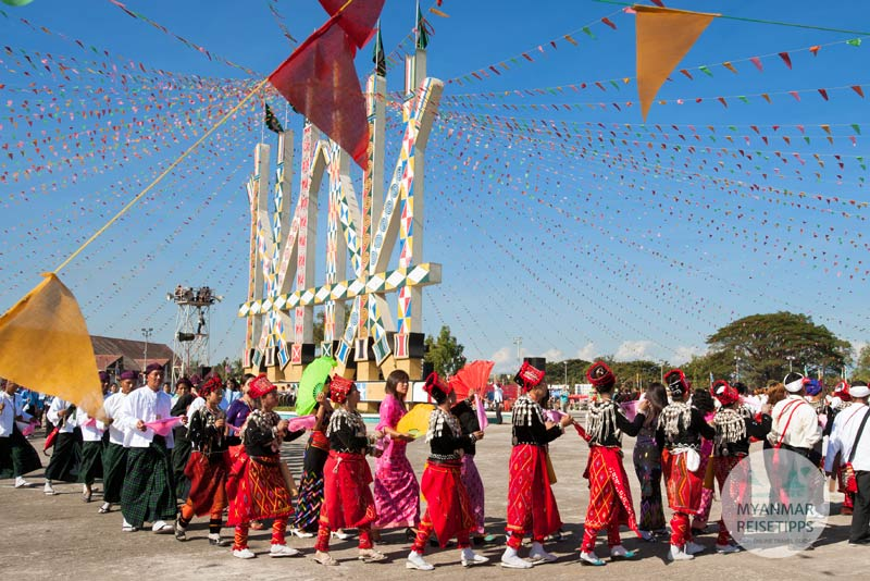 Myanmar Reisetipps | Festival | Kachin-Manaw-Fest in Myitkyina