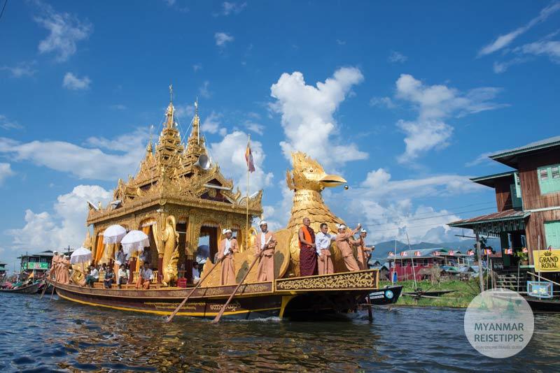 Myanmar Reisetipps | Festival | Phaung Daw U Festival