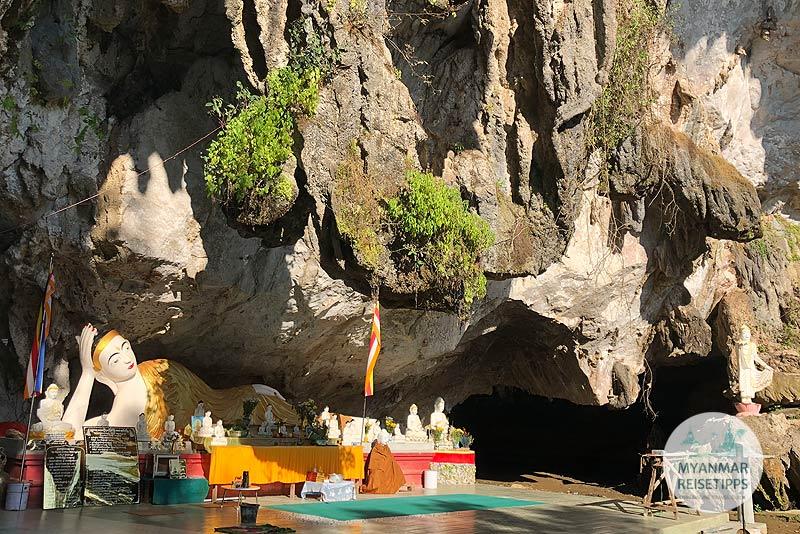 Myanmar Reisetipps | Hpa-an | Höhle Ai San Tha Ya Gu
