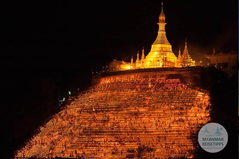 Myanmar Reisetipps | Festival | Lichterfest in Magwe