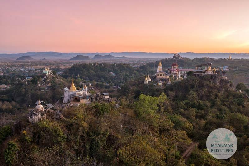 Myanmar Reisetipps | Loikaw | Pagode Shwe Latt War und Mya Kalat Taung