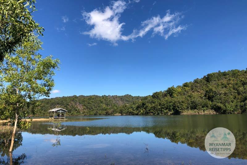 Myanmar Reisetipps | Loikaw | Seven Stages Lake hinter Hta Nee La Leh