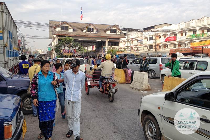 Myanmar Reisetipps | Einreise auf dem Landweg | Grenzübergang Mae Sot