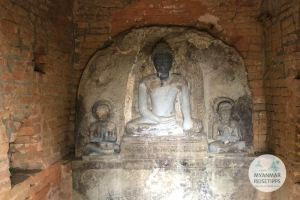 Myanmar Reisetipps | Pyay |Buddha-Bildnisse im Bebe-Tempel in Sri Ksetra