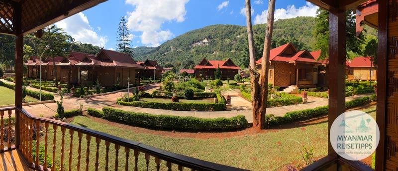 Myanmar Reisetipps | Pindaya | Conqueror Resort