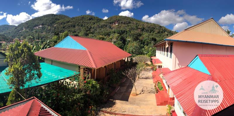 Myanmar Reisetipps | Pindaya | Golden Cave Hotel