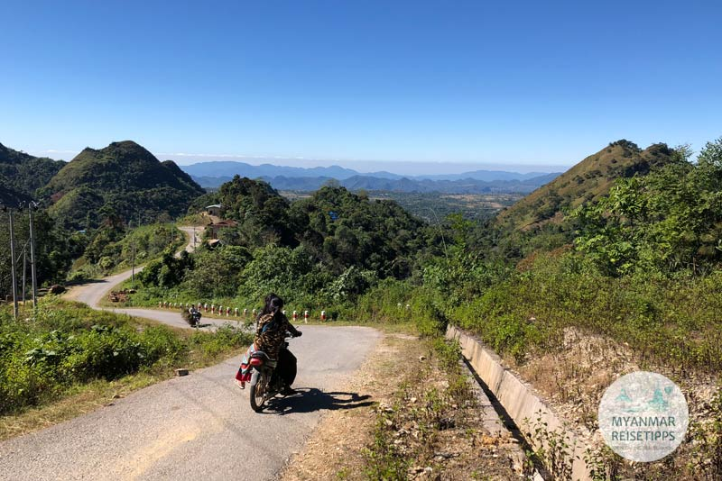 Myanmar Reisetipps | Pindaya | Mopedtour nach Yasagyi