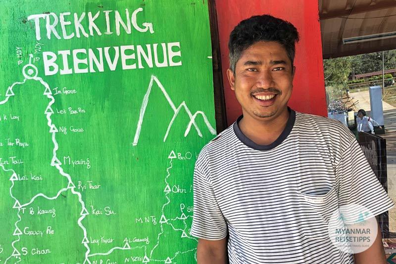 Myanmar Reisetipps | Pindaya | Ko Zaw von Pindaya Nature Traveller