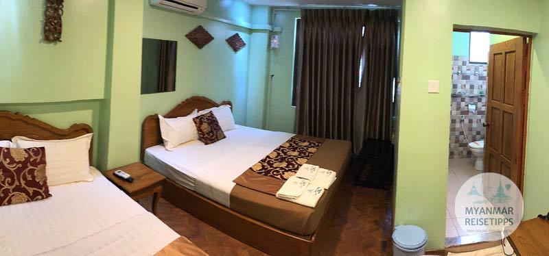 Myanmar Reisetipps | Pyay | Zentral gelegen, das 3D Hotel