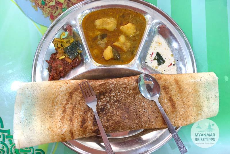 Myanmar Reisetipps | Pyay | Ah Kaung Sar Restaurant