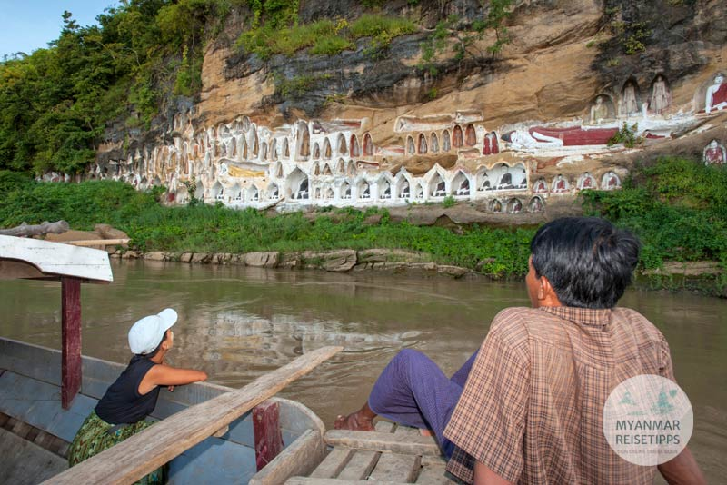 Myanmar Reisetipps | Pyay | Akaung Taung, auch Tax Mountain genannt