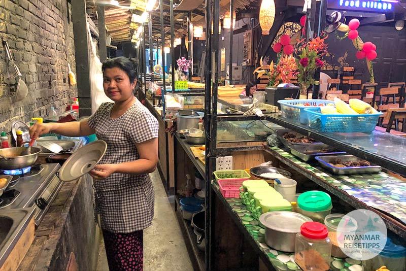 Myanmar Reisetipps | Pyay | Baydaryi Food Village