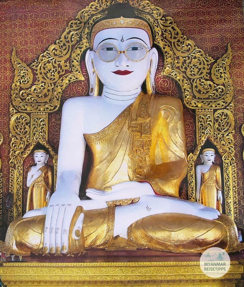 Myanmar Reisetipps | Pyay | Shwe Myet Hman Buddha Image in Shwetaung