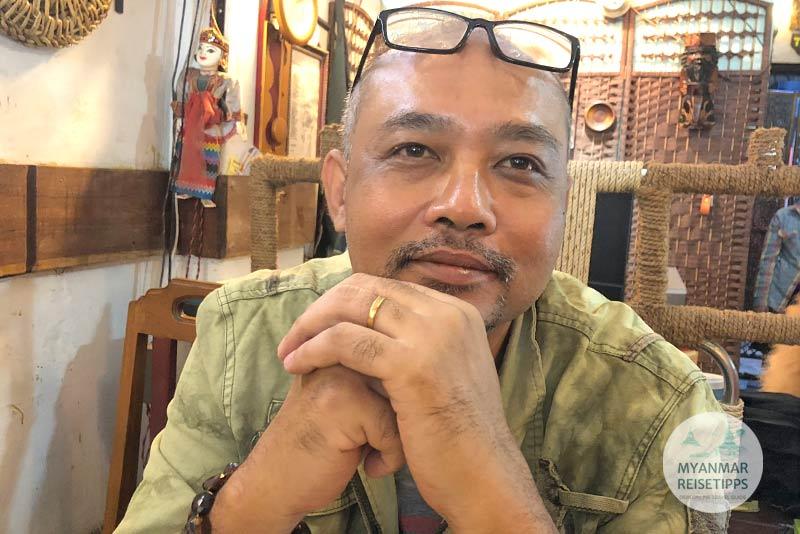 Myanmar Reisetipps | Pyay | Besitzer Zar Ni Kyaw vom Forever Food Center