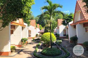 Myanmar Reisetipps | Pyay | Bungalows vom Lucky Dragon Hotel