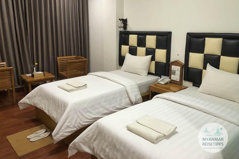 Myanmar Reisetipps | Pyay | Zimmer 107 im Irrawaddy Hotel
