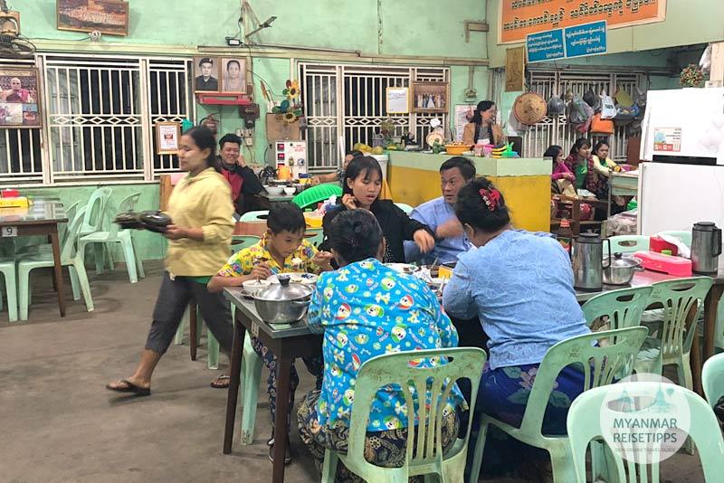 Myanmar Reisetipps | Pyay | May Ywet War Restaurant