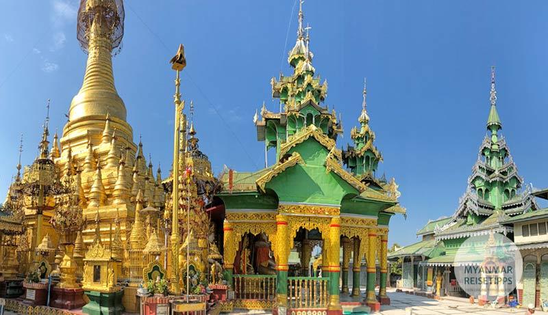 Myanmar Reisetipps | Pyay | Pagode Shwe Nat Taung