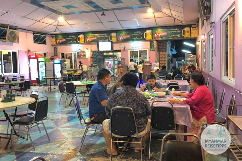 Myanmar Reisetipps | Pyay | San Francisco Restaurant