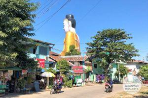 Myanmar Reisetipps | Pyay | Sehtatgyi-Buddha von hinten