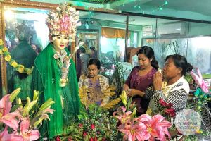 Myanmar Reisetipps | Pyay | Nat in der Shwebawtha-Pagode