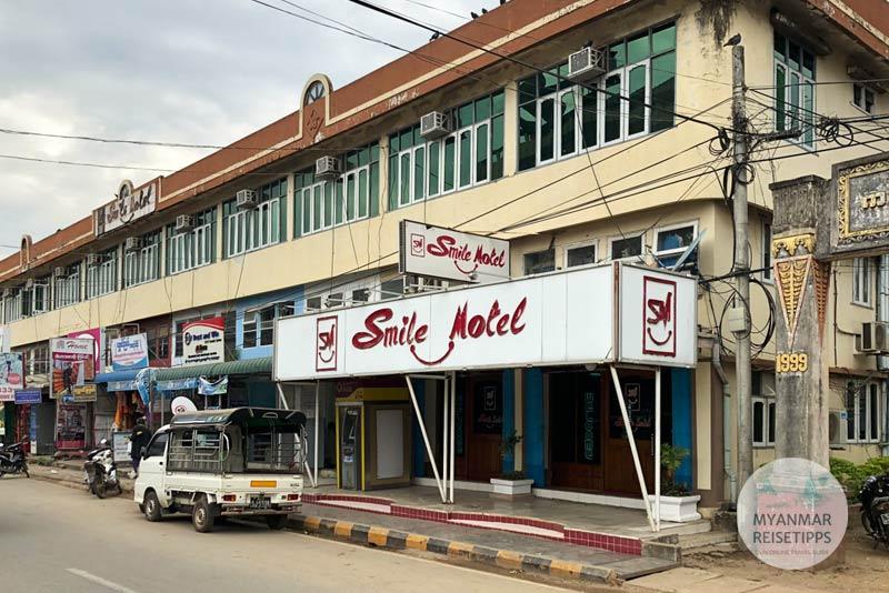 Myanmar Reisetipps | Pyay | Smile Motel