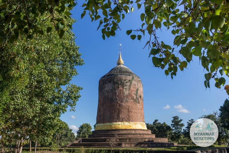 Myanmar Reisetipps | Pyay | Bawbawgyi-Stupa in Sri Ksetra