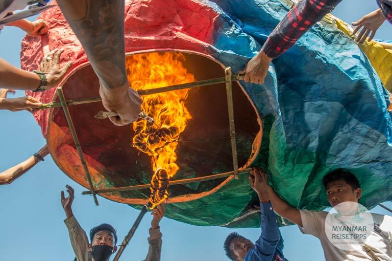 Myanmar Reisetipps | Festival 2019 | Balloon Festival in Taunggyi