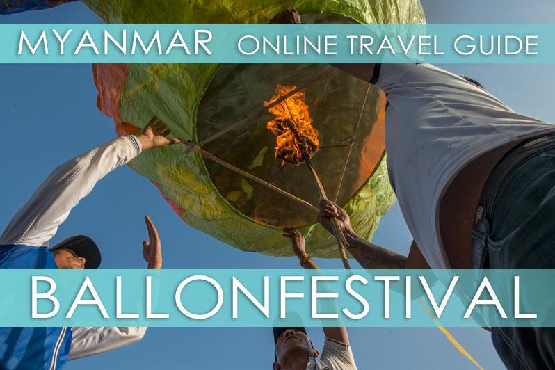 Myanmar Reisetipps | Ballonfestival Pyin U Lwin