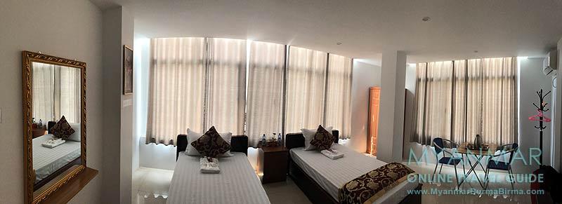 Myanmar Reisetipps | Dawei | Zimmer im Hotel Best House