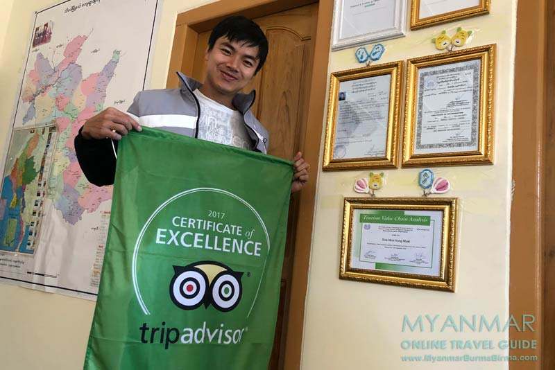 Myanmar Reisetipps | Hsipaw | Mitch Michael (Soe Moe Aung Myat) von Northern Shan State Trek (Travel & Tour)