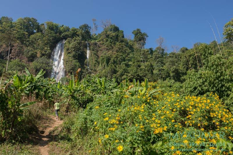 Myanmar Reisetipps | Hsipaw | Aufstieg zum Wasserfall Nam Tok