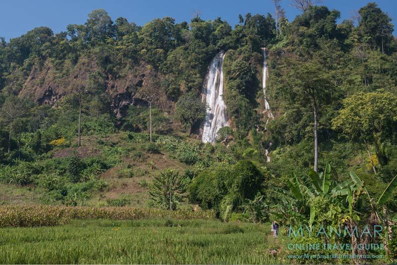 Myanmar Reisetipps | Hsipaw | Wanderung zum Wasserfall Nam Tok
