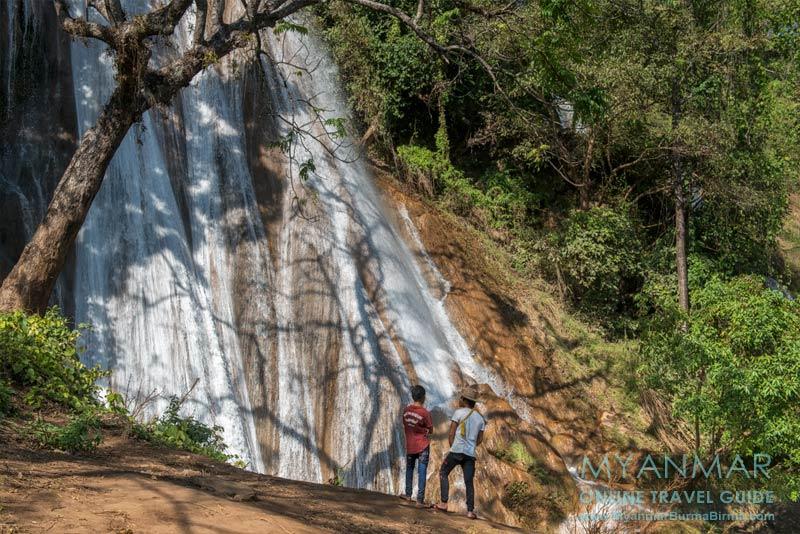 Myanmar Reisetipps | Hsipaw | Wasserfall Nam Tok