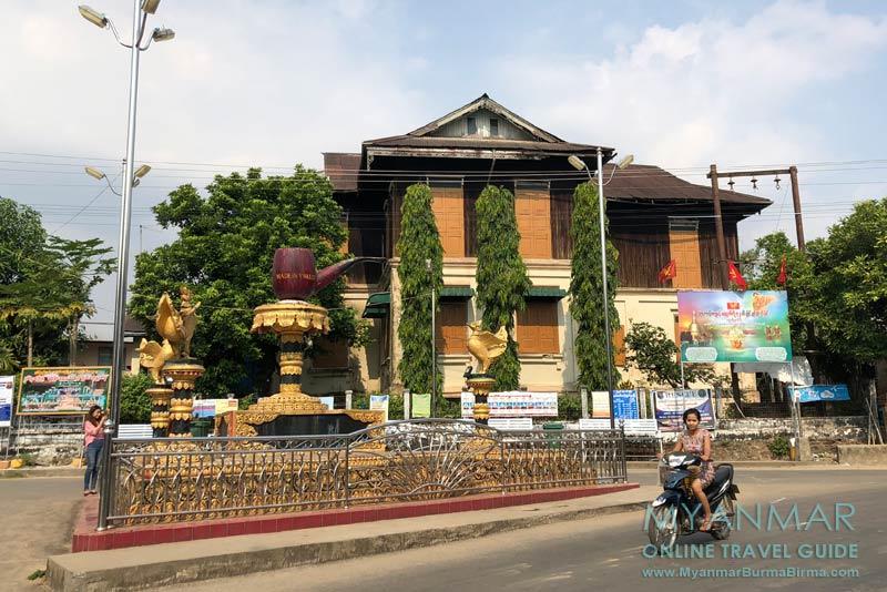 Myanmar Reisetipps | Insel Bilu Kyun | Große Pfeife im Dorf Ywalut