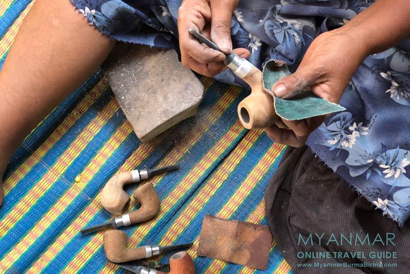 Myanmar Reisetipps | Insel Bilu Kyun | Pfeifenmanufaktur