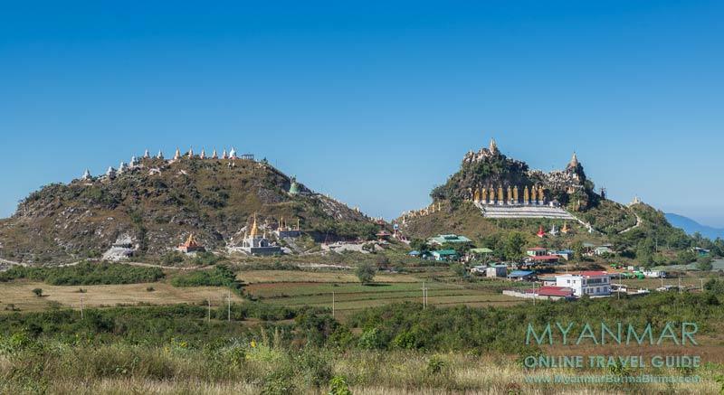 Myanmar Reisetipps | Kalaw | Brave Woman Mountain oder Main Ma Ye Tha Khin Ma Taung