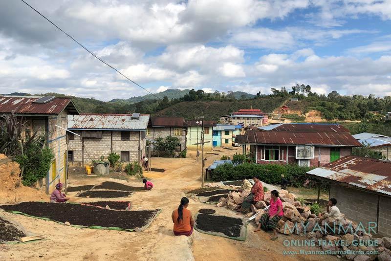 Myanmar Reisetipps | Kalaw | Palaung-Dorf Hin Kha Gone