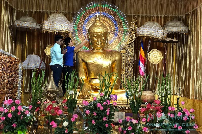 Myanmar Reisetipps | Kalaw | Bambus-Buddha in der Hnee-Pagode
