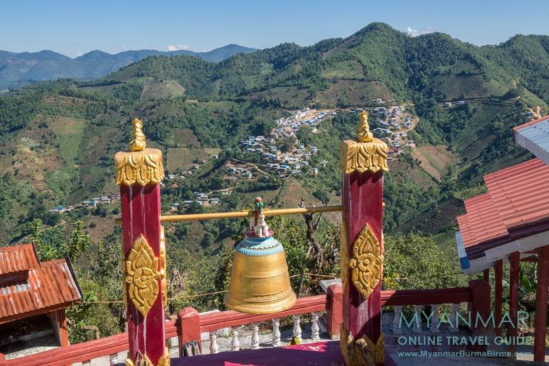 Myanmar Reisetipps | Kalaw | View von der Taung Pe Hill Top Pagode