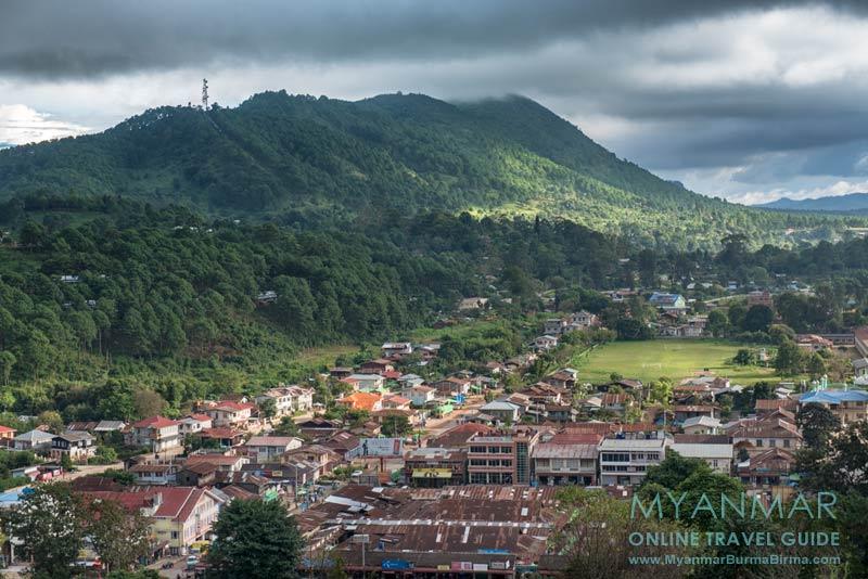 Myanmar Reisetipps | Kalaw | Stadtansicht