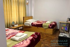 Myanmar Reisetipps | Kalaw | Zimmer im Nice Dream Motel