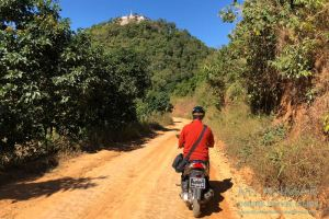 Myanmar Reisetipps   Kalaw   Weg zur Taung Pe Pagode