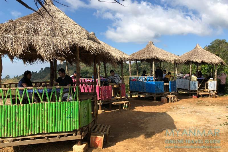 Myanmar Reisetipps | Kalaw | Open-Air-Restaurant Sky View