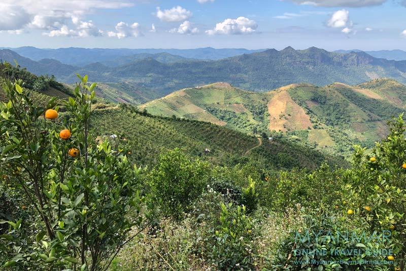 Myanmar Reisetipps | Kalaw | Aussicht am Viewpoint@Kalaw